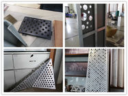 More design punched aluminum single panel