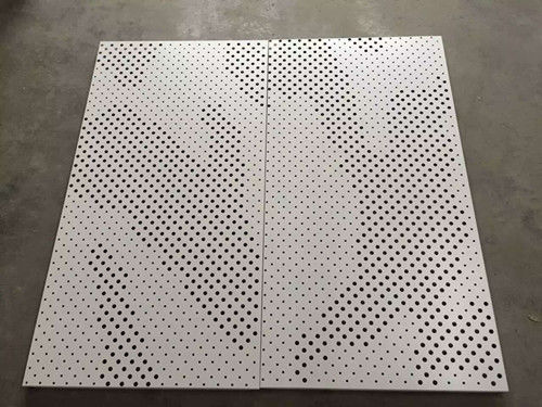 High Strength Perforated Aluminum Ceiling Tiles Ral & Pantone Color